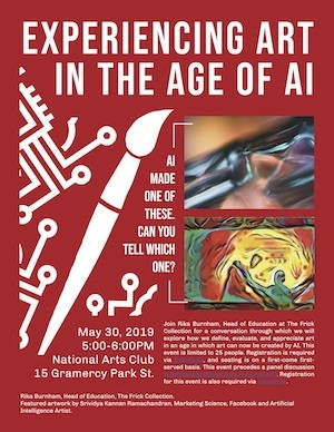 Art and AI Opening Poster