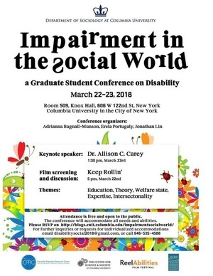 Impairment in the social world official poster